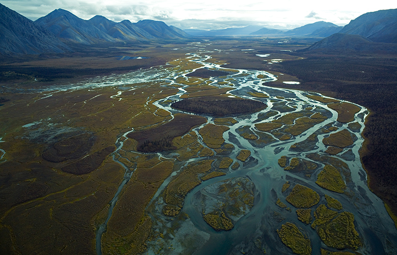 In an undated photo provided by the U.S. Fish and Wildlife Service, a portion of the the Arctic National Wildlife Refuge. Environmental activists and their allies in Congress are on the cusp of forever losing the decades-long political battle over the refuge as an effort to open up the reserve to oil and gas drilling is working its way through Congress in 2017. (U.S. Fish and Wildlife Service via The New York Times) — FOR EDITORIAL USE ONLY. —  XNYT172 XNYT172