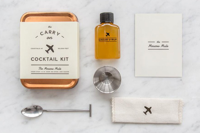 W&P Design + Punch Carry On Cocktail Kit, $25