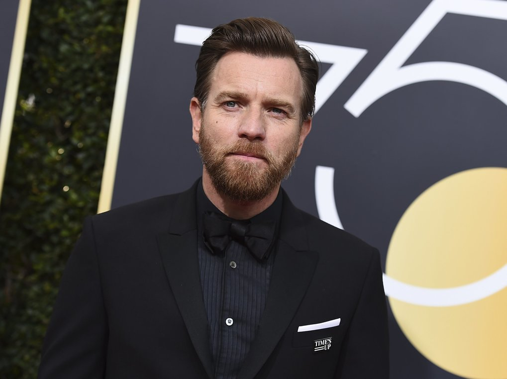 Ewan McGregor arrives at the 75th annual Golden Globe Awards at the Beverly Hilton Hotel on Sunday, Jan. 7, 2018, in Beverly Hills, Calif. (Photo by Jordan Strauss/Invision/AP)