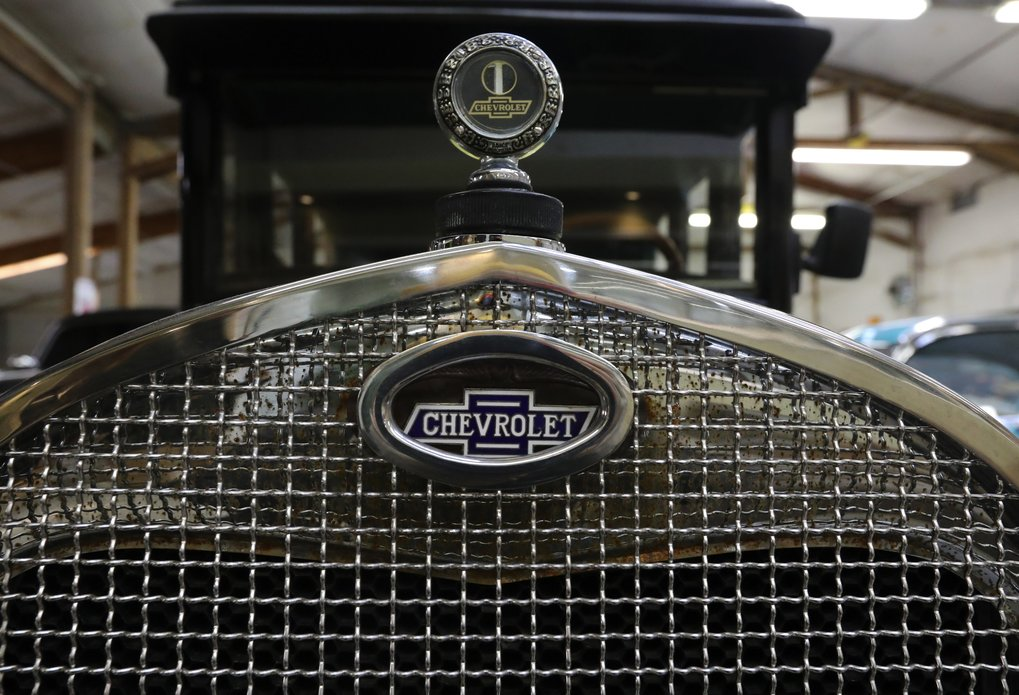 This 1926 Chevy Landau sedan had a price of around $765 when new.  (Alan Berner/The Seattle Times)