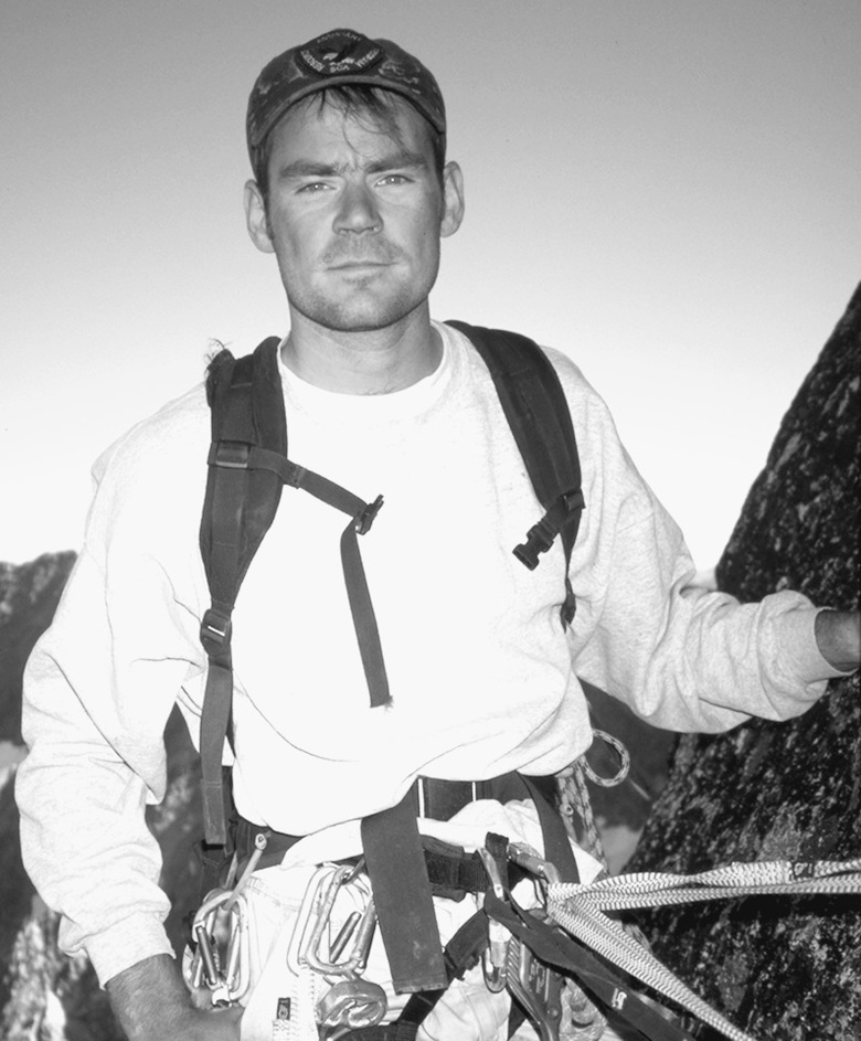 """Mike Gauthier, author of """"Mount Rainier: A Climbing Guide"""" (Mountaineers Books), in his heyday as a climbing ranger for Mount Rainier National Park. (Mike Gauthier collection)"""