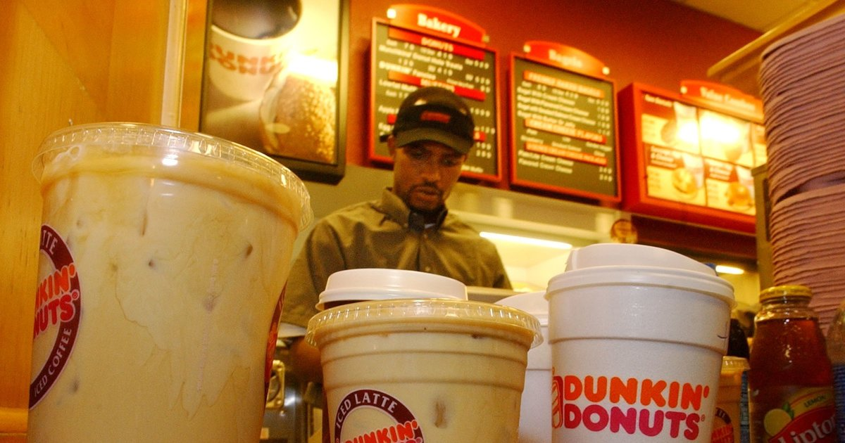 New England's love for Dunkin' Donuts flows deeper than Seattle's love for Starbucks