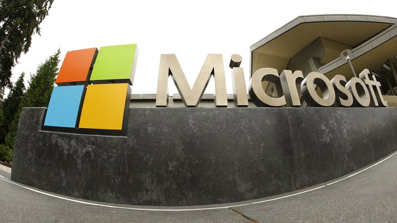 Microsoft is defending its handling of gender discrimination complaints.  (Ted S. Warren/The Associated Press)