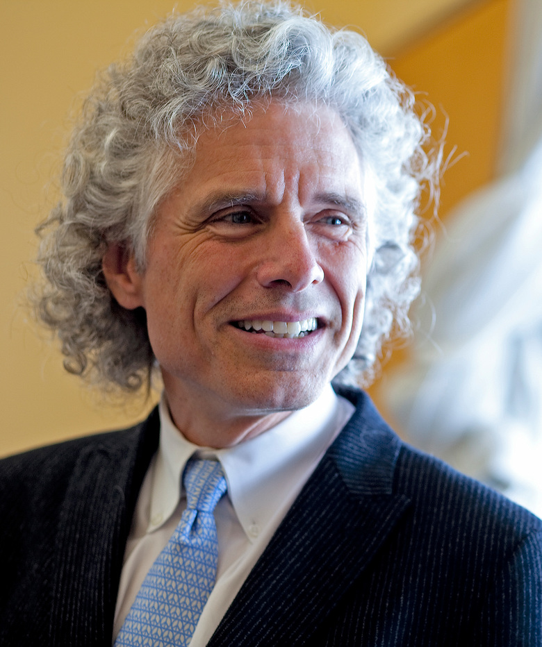 "Steven Pinker is the Johnstone Family Professor of Psychology and a Harvard College professor and he is the author of the new book, ""The Better Angels of Our Nature: Why Violence has Declined."" Rose Lincoln /Harvard Staff Photographer (Rose Lincoln/Harvard University)"