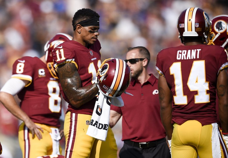 Washington wide receiver Terrelle Pryor Sr.. (AP Photo/Kelvin Kuo)