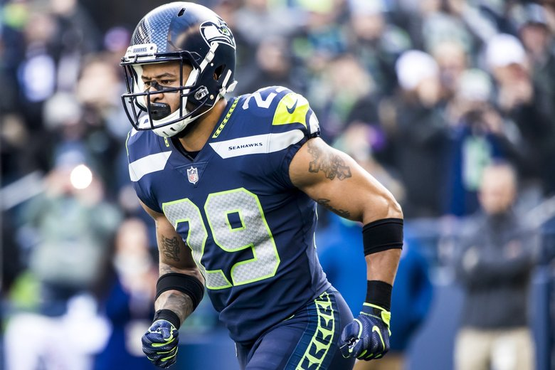 Seahawks free safety Earl Thomas. (Bettina Hansen / The Seattle Times)