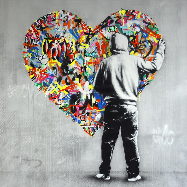 """Paint Love,"" by Martin Whatson, will appear in the opening exhibition of Ballard's new Nordic Museum. The exhibition runs May 5-Sept. 16. (Courtesy of the artist)"