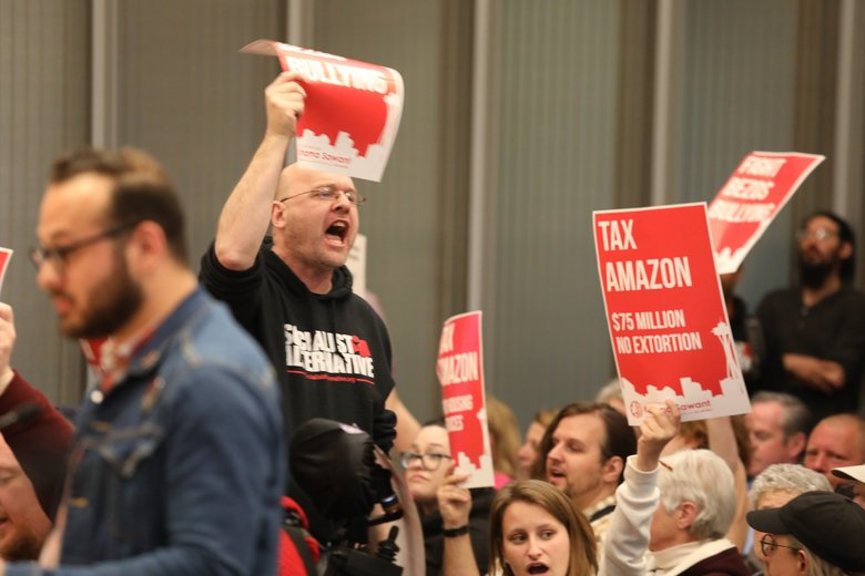 Seattle mayor's 'Amazon tax' compromise voted down by City Council