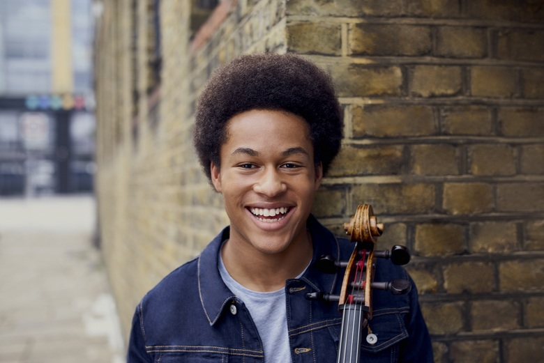 Cellist Sheku Kanneh-Mason, who played at the royal wedding earlier this year, performs with the Seattle Symphony Orchestra  Oct. 18-20 at Benaroya Hall. (Lars Borges)