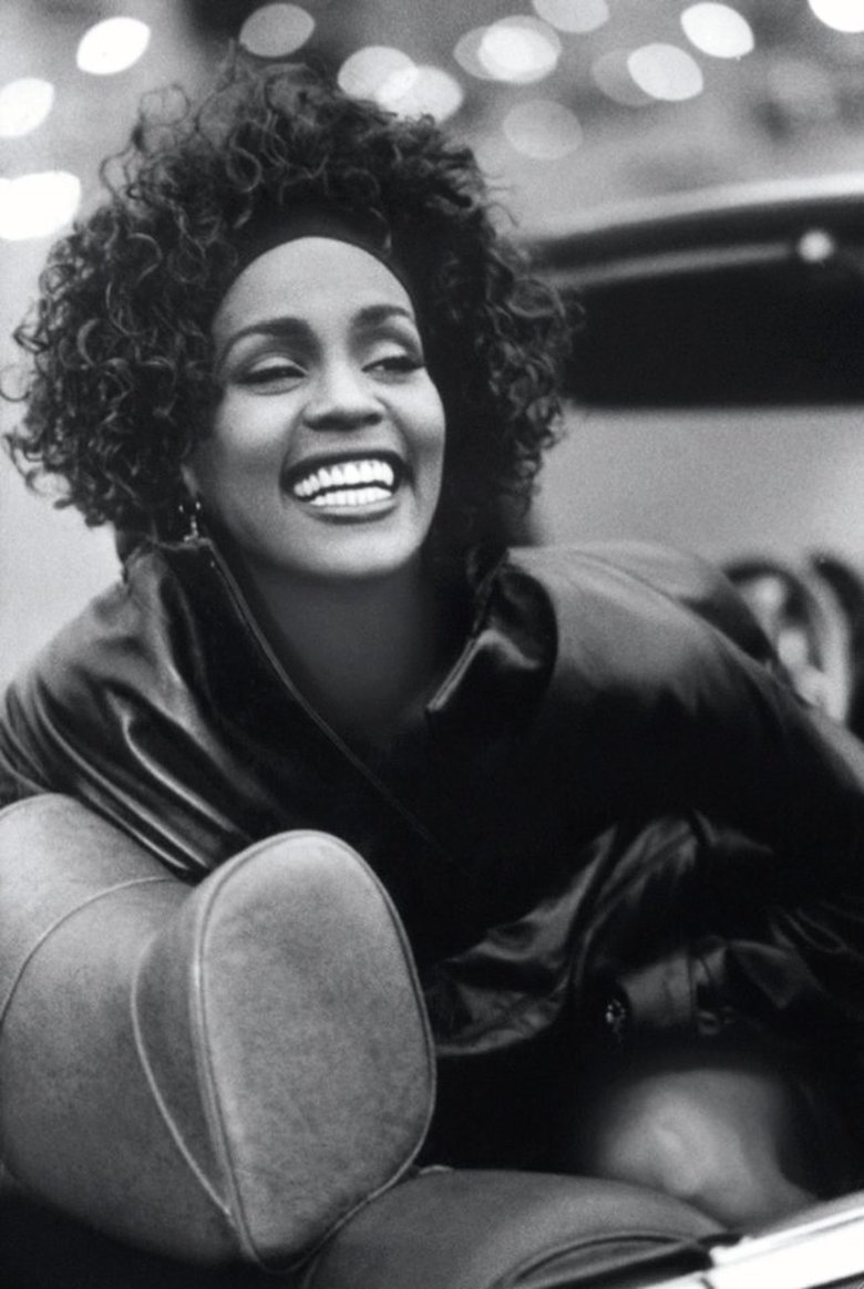 "Whitney Houston in the documentary ""Whitney.""  (Courtesy of The Estate of Whitney Houston)"