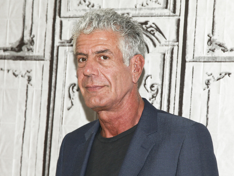 "FILE – In this Nov. 2, 2016, file photo, Anthony Bourdain participates in the BUILD Speaker Series to discuss the online film series ""Raw Craft"" at AOL Studios in New York.   Bourdain has been found dead in his hotel room in France, Friday, June 8, 2018,  while working on his CNN series on culinary traditions around the world.  (Photo by Andy Kropa/Invision/AP, File)"