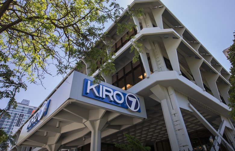 KIRO TV building, located at 2807 Third Avenue in Seattle, WA.  Shot Wednesday July 25, 2018.