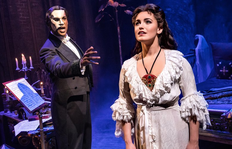 """Cameron Mackintosh's new production of """"The Phantom of the Opera"""" comes to Seattle's Paramount Theatre Aug. 8-19."""