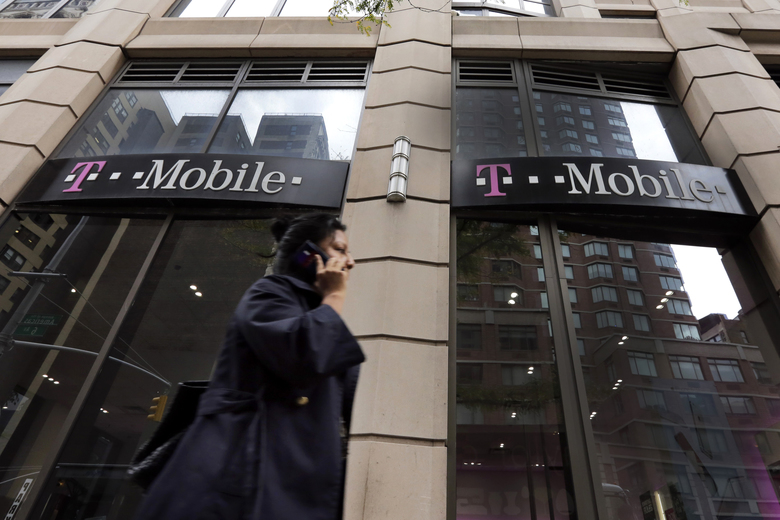 T-Mobile said it will eliminate the robotic systems that generally start customer service calls (Richard Drew/AP)