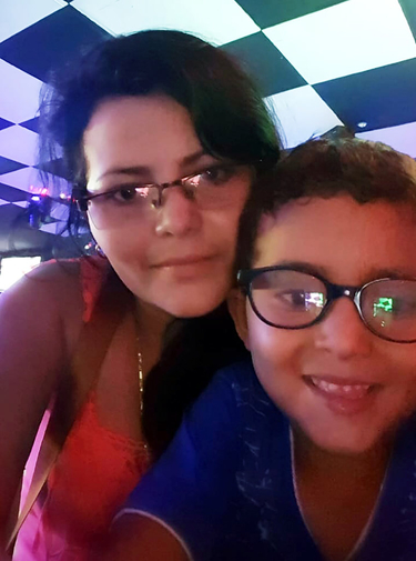 Yolany Padilla and her 6-year-old son, who came to the U.S. from Honduras, before they were separated by immigration officials. (Courtesy of Leta Sanchez)