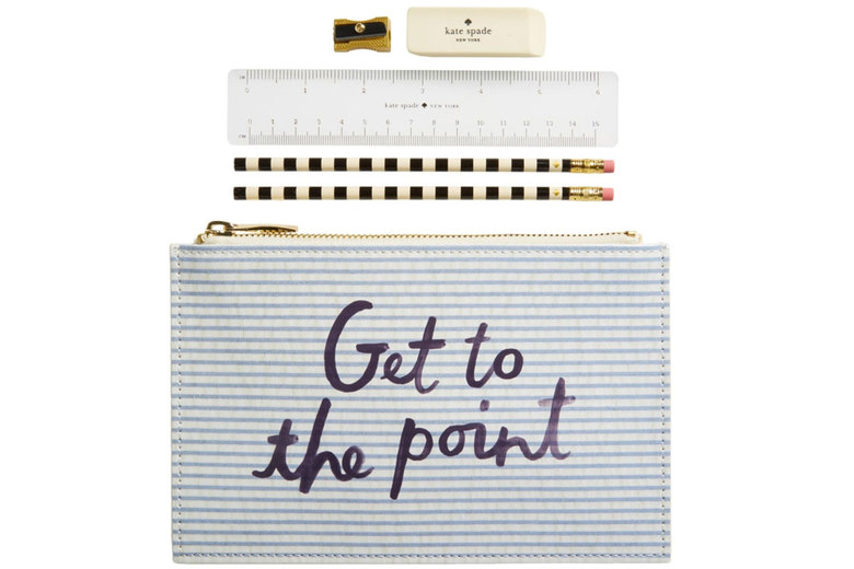 Kate Spade New York Get to the Point Pencil Pouch,  $30