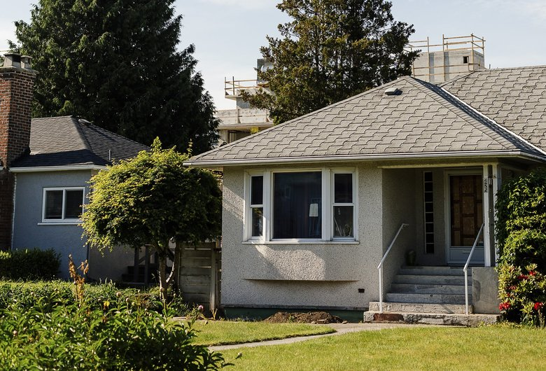 Vancouver, B.C., sales of detached properties declined by 33 percent from a year ago, and apartments are down 27 percent. (Alana Paterson / The New York Times)