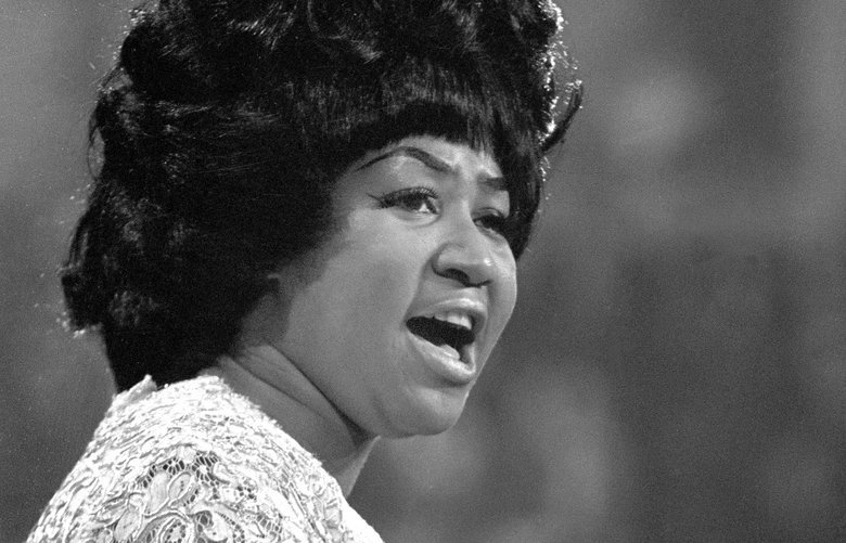 FILE — Aretha Franklin performs at the Democratic National Convention in Chicago on Aug. 26, 1968. Franklin, universally acclaimed as the ìQueen of Soulî and one of Americaís greatest singers in any style, died on Aug. 16, 2018, at her home in Detroit, her representative, Gwendolyn Quinn, said. She was 76. (Don Hogan Charles/The New York Times) XNYT6 XNYT6 XNYT6