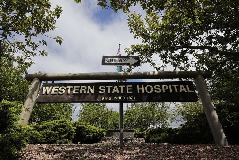 Dave Holt was announced as the new chief executive officer of Western State Hospital on Monday. (Ted S. Warren / AP)