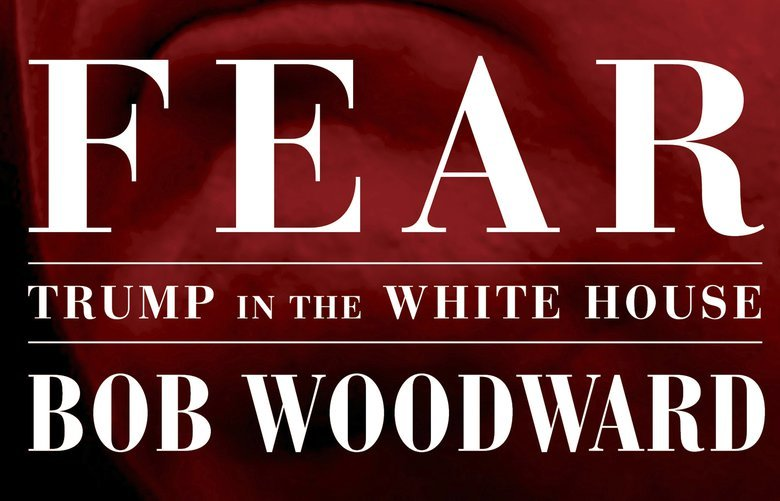 """This image released by Simon & Schuster shows """"Fear: Trump in the White House,"""" by Bob Woodward, available on Sept. 11. (Simon & Schuster via AP) NYET914 NYET914"""