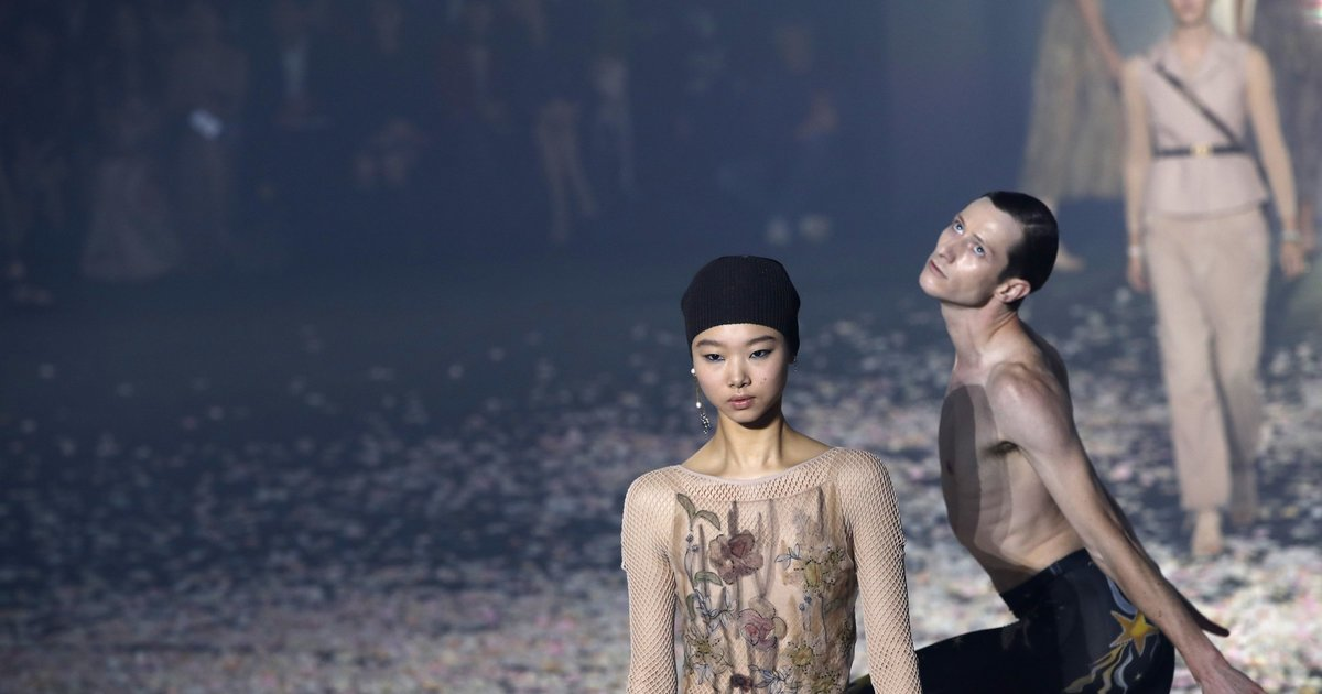Sunday Best: Dancing with fashion at the Christian Dior show