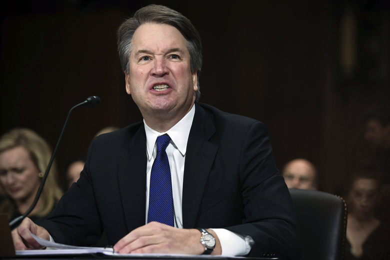 Brett Kavanaugh 'belligerent and aggressive' after 'heavy' drinking, ex-classmate says