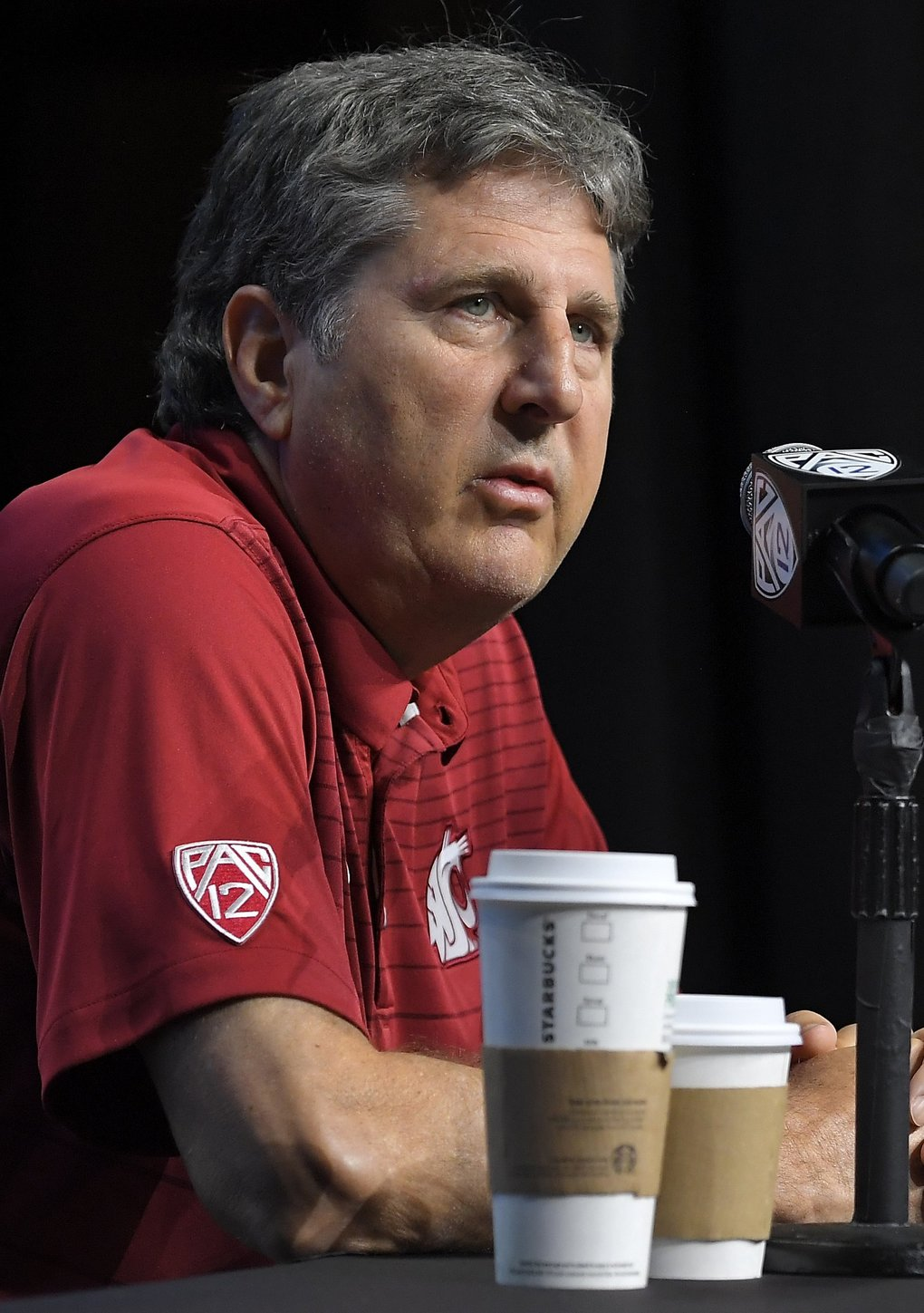 Washington State coach Mike Leach (Mark J. Terrill / The Associated Press)