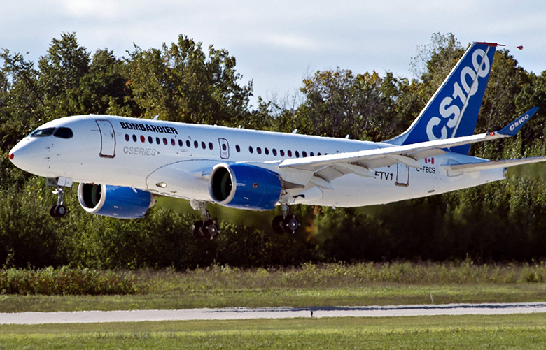 Bombardier's CSeries was acquired this year by Airbus and rechristened the A220. (Ryan Remiorz / AP)