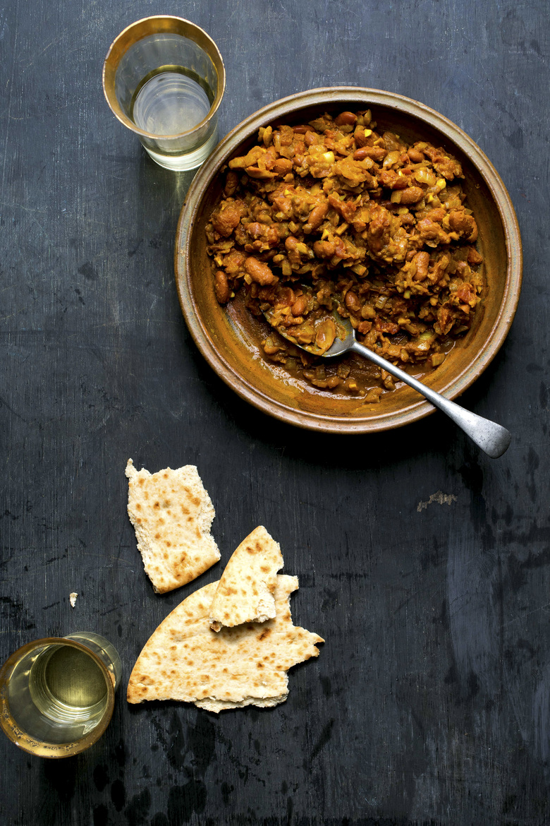 Punjabi rajma, a spiced-bean dish, made in an Instant Pot. A slew of new cookbooks are seizing on the Instant Pot's popularity. (Andrew Scrivani / The New York Times)