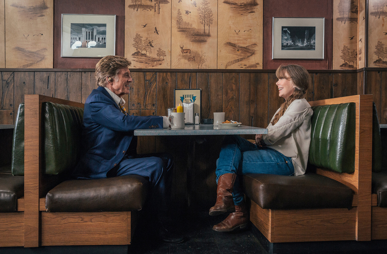 "Robert Redford and Sissy Spacek in ""The Old Man & the Gun."" (Eric Zachanowich / Fox Searchlight Pictures)"