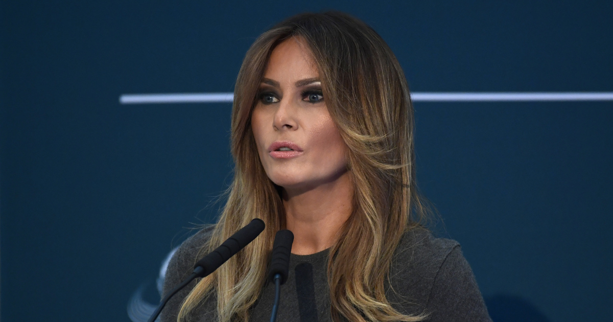 Melania Trump OK with criticism over anti-bullying campaign