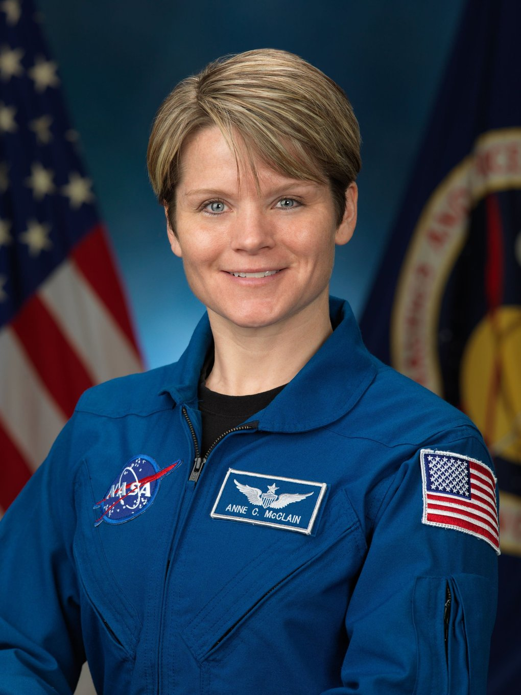 Spokane native Anne McClain will make history as part of NASA's first all-female spacewalk at the International Space Station later this month. (NASA, file)