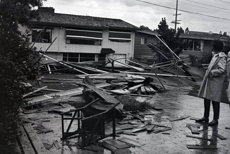 Seattle S 1st Recorded Tornado Was In 62 And It Wrecked Bill Gates