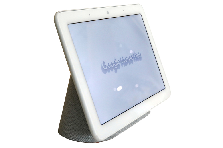 All your smart devices can be controlled with the  Google Home Hub, which is compatible with more than 5,000 smart devices such as lights, cameras,  televisions and more. (Richard Drew / AP)