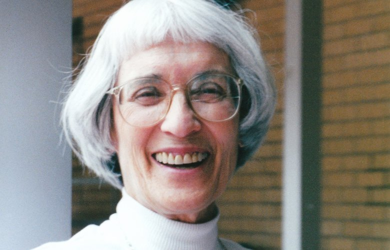 In a family photo, Bernice Sandler, an educator and researcher who was central to the development, passage and implementation of the Title IX law, in 1997. Sandler, whose efforts helped ensure that male and female students have equal access to admissions, resources and financial assistance, died on Jan. 5, 2019. She was 90. (Family photo via The New York Times) — NO SALES; FOR EDITORIAL USE ONLY WITH NYT STORY OBIT-SANDLER BY SEELYE FOR JAN. 9, 2019. ALL OTHER USE PROHIBITED. —  XNYT112 XNYT112