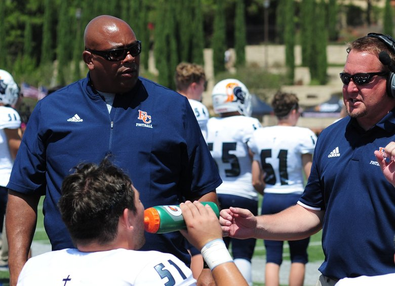 Eastside Catholic coach Dom Daste  (Courtesy of Eastside catholic)