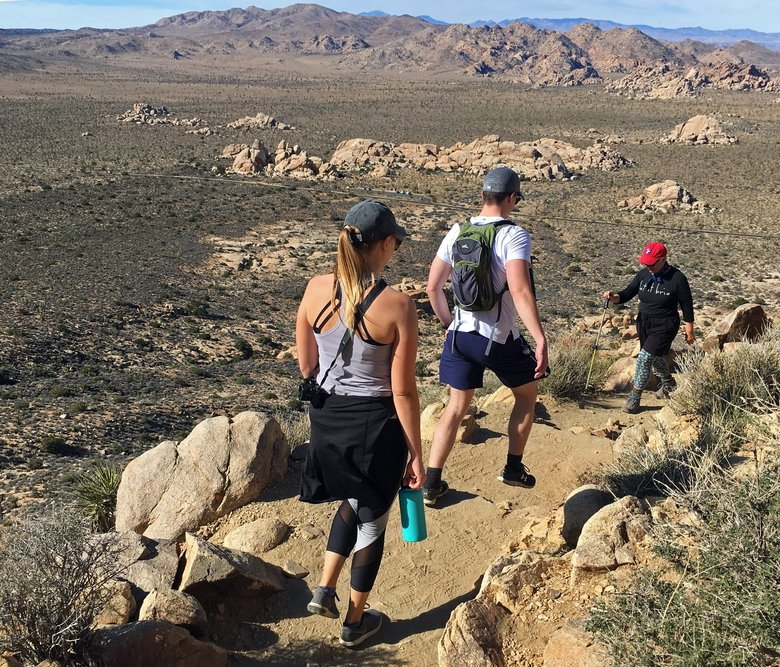 One of the most popular hikes at Joshua Tree is Ryan Mountain, rising 1,000 vertical feet for views of the high desert. (John Nelson / Special to The Seattle Times)