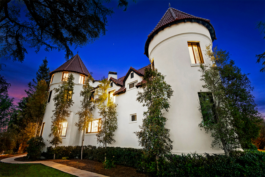 The chateau-style house was built by French immigrant Sylvester Dupuy, who designed the home to evoke the castles from his native country. (Jeremy Spann/TNS)