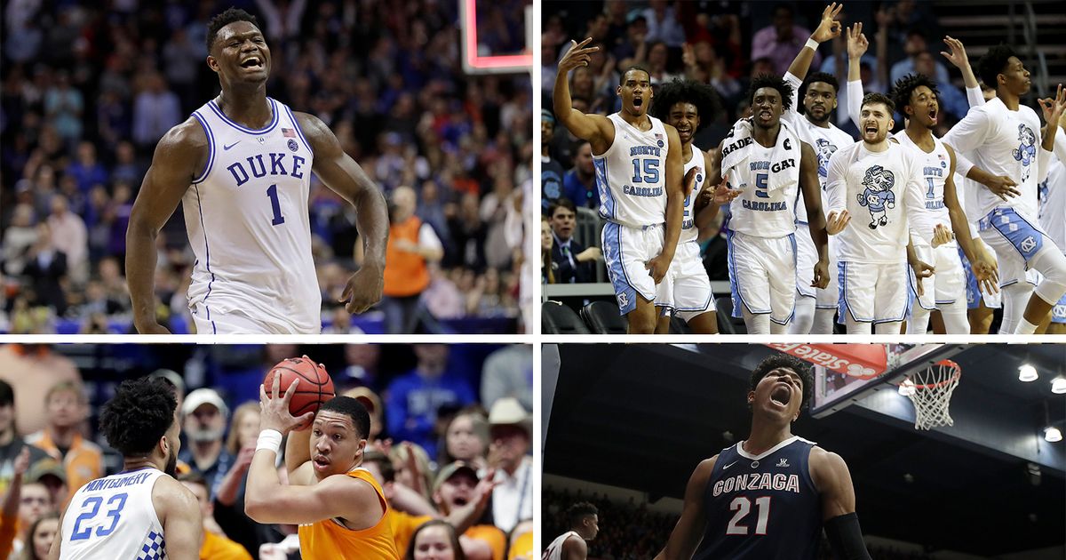 Here's what you need to know about each region of the NCAA tournament bracket