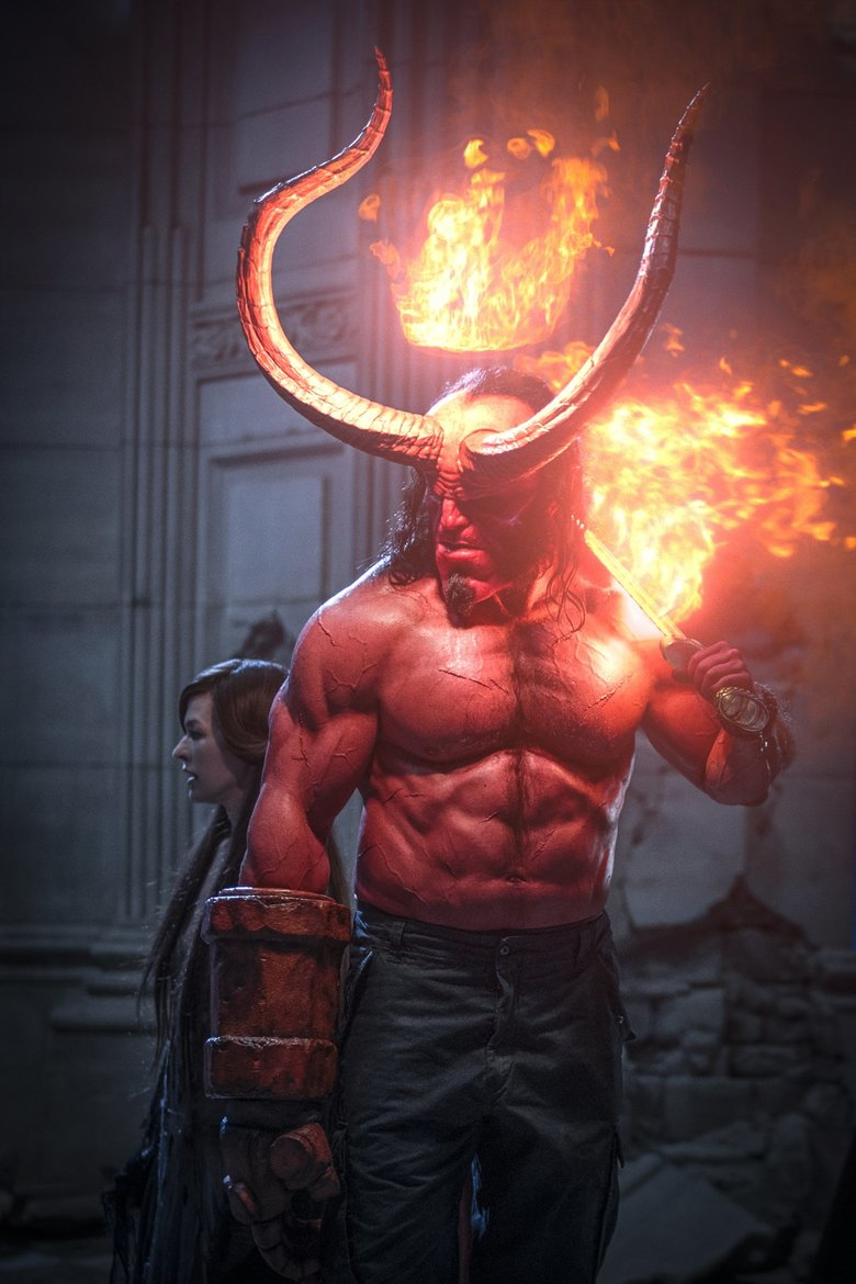 """David Harbour takes over as the half-man, half-monster """"Hellboy."""" (Mark Rogers)"""
