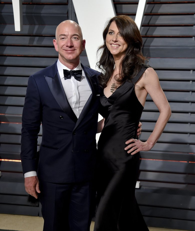 Amazon CEO Jeff Bezos and MacKenzie Bezos have reached agreement on their divorce, which they expect to become final in about three months.  (Evan Agostini/Invision/AP, file)