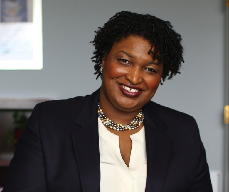 "Stacey Abrams, who was propelled into the national spotlight after her defeat in the Georgia governor's race, and her Democratic response to the State of the Union Address, will visit Seattle on Thursday, April 25, to speak about her book, ""Lead from the Outside."" (Courtesy Stacey Abrams)"