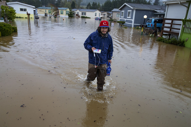 Flood warnings issued for several Oregon counties | The Seattle Times