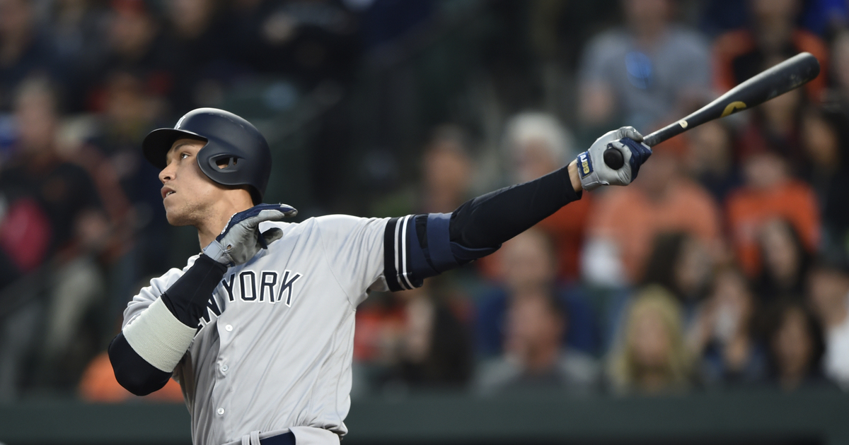 Judge hits 2 HRs, Frazier adds 1 as Yankees beat Orioles 6-4