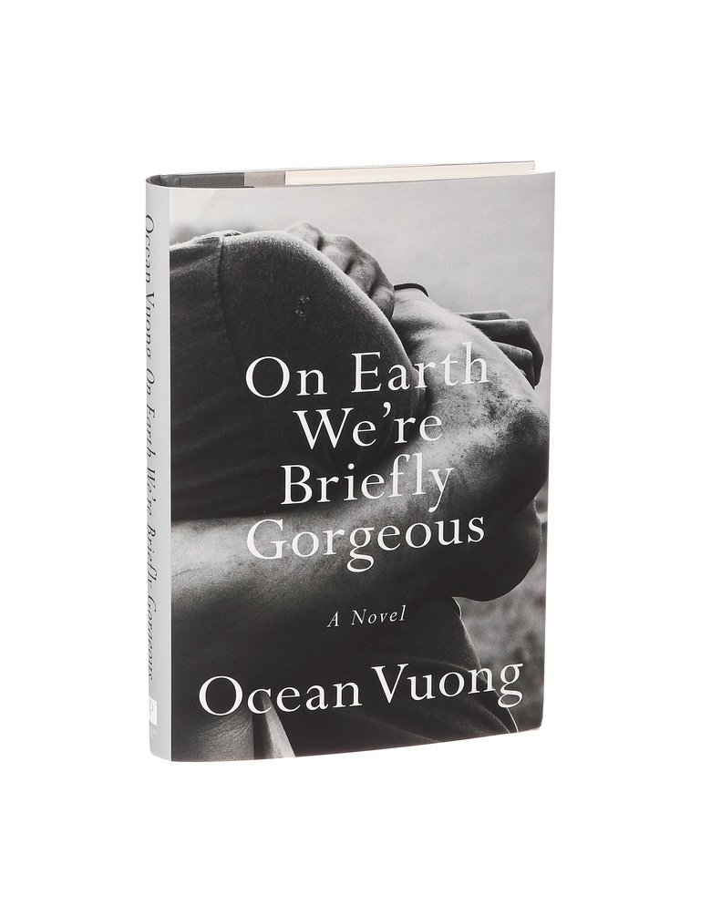 "The novel ""On Earth We're Briefly Gorgeous,"" by the award-winning poet Ocean Vuong. After the success of Vuong's book of poetry, ""Night Sky With Exit Wounds,"" people asked him when he would write his next collection. ""For what?"" he would say. ""There's nothing left."" (Alessandra Montalto/The New York Times)"