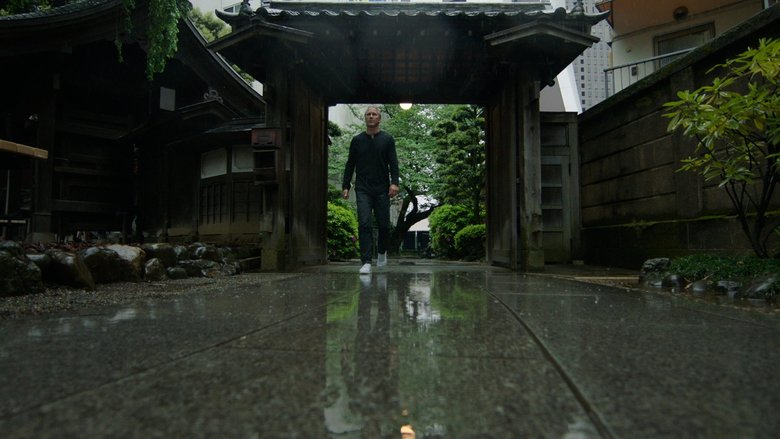Sounders vice president of soccer Chris Henderson takes a stroll through Buddist Temple in Tokyo. (Peter Hutchens / For Delta Air Lines)