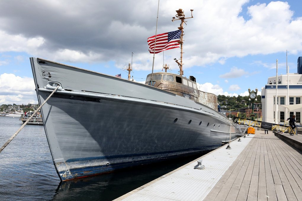 Coast Guard cutter that survived D-Day landings being restored by