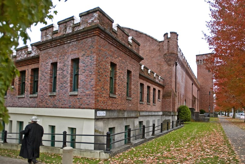 The Tacoma Armory, built in 1908, is pictured in 2011, when it was still headquarters of the 96th Troop Command of the Washington National Guard. The state decided to mothball the building, and the units within the 96th were forced to move to other facilities in Washington. (The Associated Press, 2011)