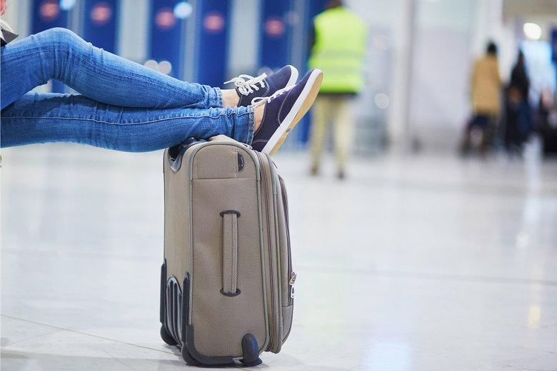 You can relax with just a carry-on. The smaller size makes it easier to move on trains and buses, frees up space in cramped hotel rooms and streamlines picking out your outfit each morning. (Getty Images)