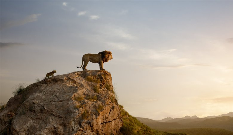 """JD McCrary voices young Simba and James Earl Jones returns as Mufasa in """"The Lion King."""" (Disney Enterprises)"""